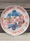 ct-170605-18 Sesame Street / 1980's Plastic Plate