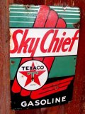 dp-170701-19 TEXACO / 1941 Sky Chief Porcelain Sign
