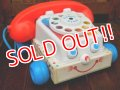 ct-170803-16 Fisher-Price / 1991 Chatter Telephone #2063