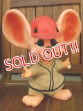 "ct-170803-08 ROYALTY Industries / 1960's-1970's Roy Des of Florida Mouse bank ""Baseball"""
