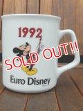 ct-170803-51 Euro Disneyland / 1992 Mickey Mouse Mug