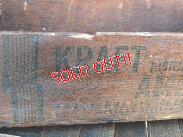 画像2: dp-170901-24 Kraft / Vintage Cheese Wood Box