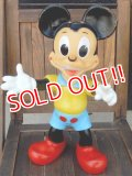 ct-170901-07 Mickey Mouse / Ledraplastic 1960's Rubber Doll (L)