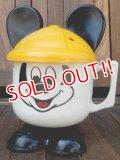 ct-170901-70 Mickey Mouse / 1970's Plastic Mug