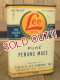 dp-171001-09 Lee / 1930's-1940's Pure Penang Mace Can