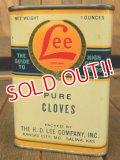 dp-171001-11 Lee / 1930's-1940's Pure Cloves Can