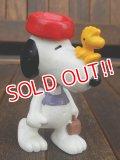 "ct-150310-71 Snoopy / Schleich PVC ""w/ Woodstock"""