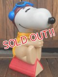 ct-171001-09 Snoopy / 1990's Shampoo Bottle Flying Ace
