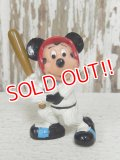 "ct-151201-64 Mickey Mouse / PVC ""Baseball"""