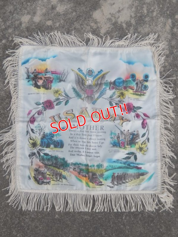 画像1: dp-171101-06 U.S.ARMY 1940's-1950's Cushion Cover