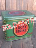 dp-171101-09 LUCKY STRIKE / 1940's Tin Can