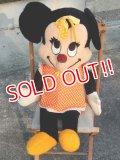 ct-171101-02 Minnie Mouse / 1970's Big Plush Doll
