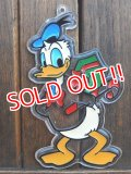 ct-140411-33 Donald Duck / 1970's Plastic Ornament
