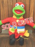 ct-171109-19 Kermit the Frog / Mattel 1990's Firefighter Plush Doll