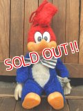 ct-171201-02 Woody Woodpecker / 1982 Plush Doll