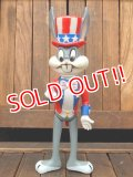 "ct-171206-78 Bugs Bunny / R.DAKIN 70's Figure ""Uncle Sam"""