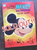 ct-171206-68 Walt Disney's / Mickey Mouse and Friends 1970's Color Book