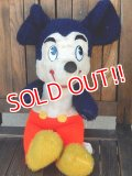 ct-180110-10 Mickey Mouse / 1960's Plush Doll