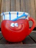"ct-180110-04 Pillsbury / 1970's Funny Face Plastic Mug ""Choo Choo Cherry"""