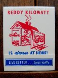 dp-180110-22 Reddy Kilowatt / 1970's Match Book