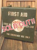 dp-180201-13 1940's U.S.FIRST AID KIT BOX