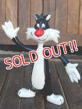 ct-180201-77 Sylvester / 1980's Bendable Figure