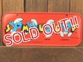ct-180201-11 Smurf / 1980's Bicycle Plate