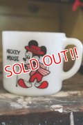 ct-180201-32 Mickey Mouse & Minnie Mouse / Federal 1960's-1970's Mug