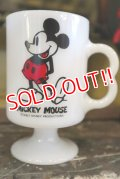 ct-180201-29 Mickey Mouse / Federal 1960's-1970's Footed Mug