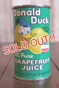 ct-180201-98 Donald Duck / 1960's-1970's Grapefruit Juice Can