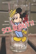 gs-180301-01 Mickey Mouse / PEPSI 1978 Collector Series Glass