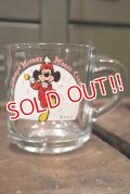 "gs-180301-06 Mickey Mouse / Anchor Hocking 1970's Mug ""Mickey Mouse Club"""