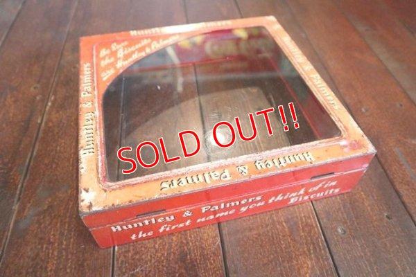 画像1: dp-180302-28 Huntley & Palmers / 1940's Biscuits Can