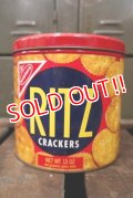 dp-180302-16 RITZ Crackers / 1970's Tin Can