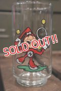 "gs-180301-04 Domino Pizza / 1987 Noid Glass ""Tennis"""