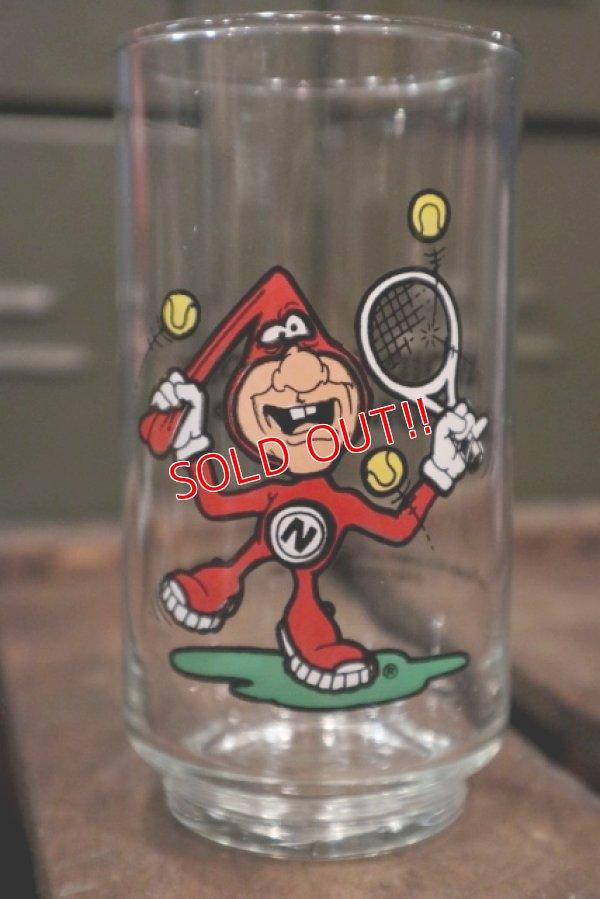 """画像1: gs-180301-04 Domino Pizza / 1987 Noid Glass """"Tennis"""""""