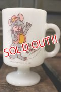dp-180401-25 Chuck E. Cheese / Federal 1980's Footed Mug