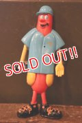 ct-180401-67 Nathan's Famous Hot Dog / The Franksters 90's Bendable Figure (G)