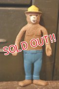 ct-180401-19 Smokey Bear / 1960's Bendable Figure