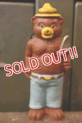 ct-180401-20 Smokey Bear / DAKIN 1970's Soft Vinyl Figure