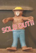 ct-180401-18 Smokey Bear / Vintage Mini Bendable Figure