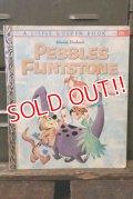 ct-180401-56 Pebbles Flintstone / 1963 Little Golden Book