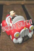 ct-180401-57 Mickey Mouse /  1990's Pull Back Car
