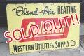 dp-180401-07 Coleman / 1960's W-side Metal Sign