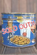 dp-180501-05 Planters / Mr.Peanuts 1940's Cocktail Salted Peanuts Tin Can