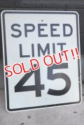 dp-180401-05 SPEED LIMIT 45 Road Sign