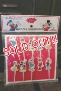 ct-150901-34 Disney / 1970's Party Pick Candleholder