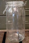 dp-140804-03 1980's〜 Glass Jar (3L)