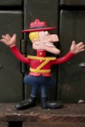 ct-140722-36 Dudley Do-Right / 1972 Bendable Figure