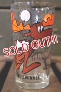gs-141101-114 Bullwinkle / PEPSI 1970's Collector Series Glass